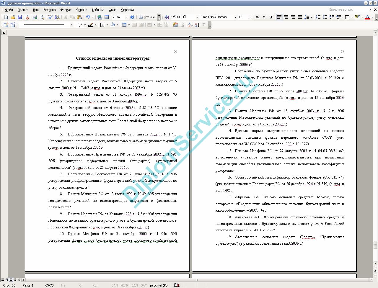 Структура и правила написания качественной дипломной работы В приложения к дипломной работе выносим формы бухгалтерской отчетности